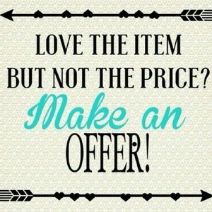 Accessories - I consider ALL reasonable offers...